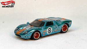 "Ford GT40 ""Gulf"" STH (Hot Wheels)"